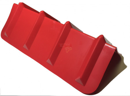 Corner Protector Veeboard Style - 24 Inches Red