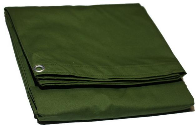 Green Canvas Tarp