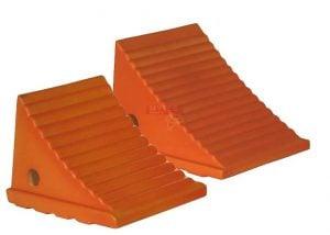Orange Polyurethane Wheel Chocks