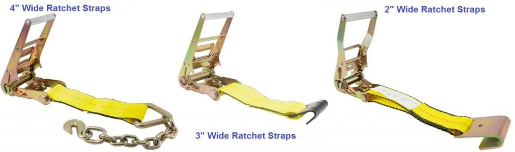 Size of Ratchet Straps