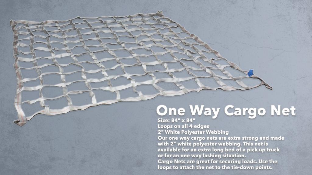 one way cargo net