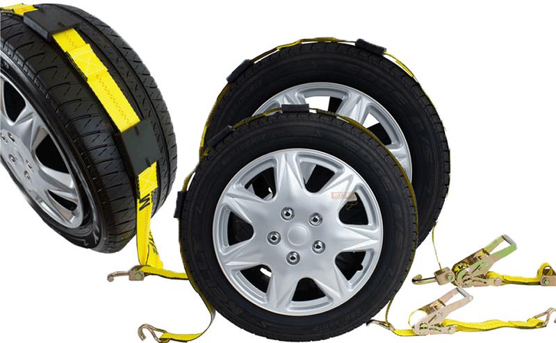 Overt tire straps