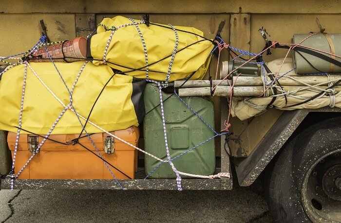 Bungee Straps Cargo Load