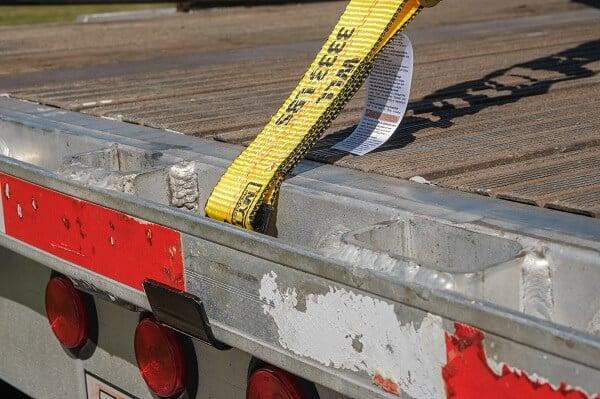 Car hauler straps