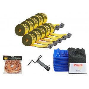 Flatbed Tie Down Kit (Winch Strap)