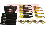 Soft Tie-Down Kit with Axle Straps
