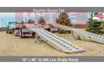 Trailer Loading Ramp Set - Double 16' x 18