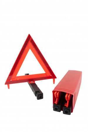 """Warning Triangle 17"""" Sides DOT Approved (Collapsible, Set of 3 pcs)"""