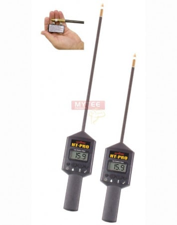 """10"""" Portable Hay Moisture Tester with Calibration Clip"""