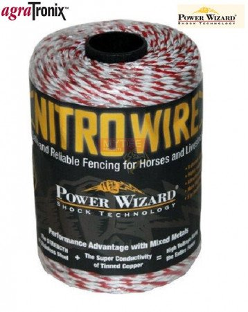 Nitro Wire 1/8 Inch 9-Strand with Red Tracer 1312 Ft