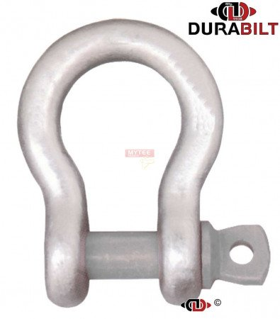 Anchor or Bow Type Shackle Made with Forged Alloy Steel & Alloy Screw Pin