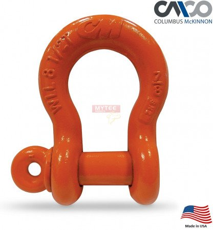 CM Super Strong Anchor Shackle Orange Powder Coated