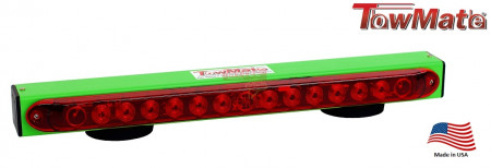 Towmate Towlight for Light Duty Applications, 22 Inch and Lime Green Color