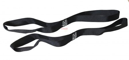 Motorcycle Handle Bar Straps (Pair) Black