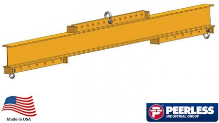 Universal Lifting / Spreader Beam   4 Ton Capacity,  10 Ft Maxium Spread