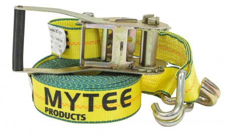 2 in. x 27 ft. Ratchet Straps with Wire Hook