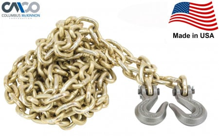 """Transport Chains G70 NACM Long Link (5/16"""" x 20') Made in USA"""