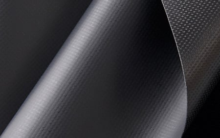 18 oz Vinyl Coated Polyester Fabric -Black