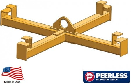 """Four Point Sack Lifter Beam,  1 Ton Capacity,  36"""" Outside Spread"""