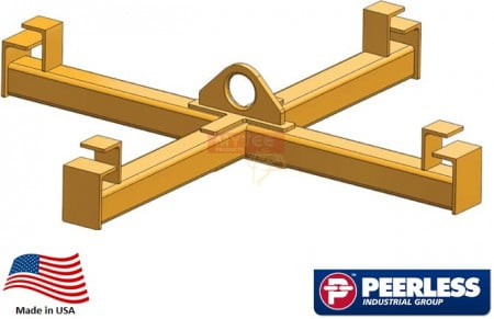 Four Point Sack Lifter Beam   Ton Capacity,  Ft Outside Spread