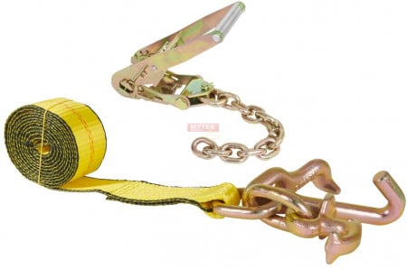 "2"" Ratchet w/ 12"" Chain Extension & 8' RTJ Strap"