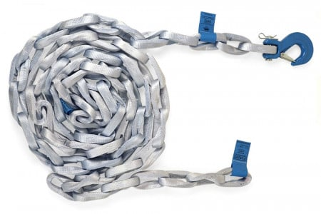 Tycan Fiber Chain 10' with Sling Hooks