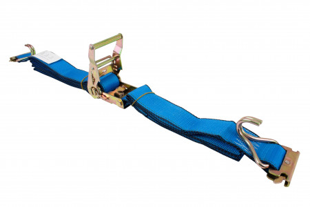"2""X16' Etrack Straps with E Fitting and J Hook"