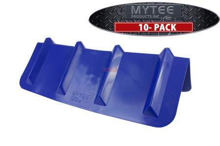 """(10 Pack) Vee Shaped Corner / V Edge Protector, 8""""X24"""" Flatbed Tow Truck Trailer"""