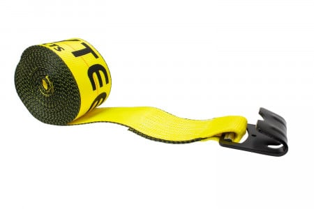 4 in. x 80 ft. Winch Strap with Flat Hook