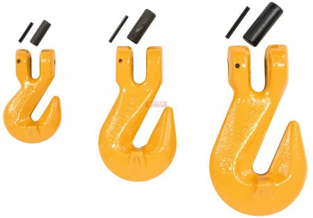 Grade 80 Clevis Cradle Grab Hooks with Pins