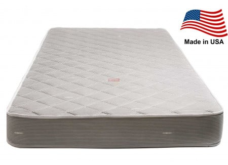 """6.5"""" Thick Luxury Mobile Mattress Gray Semi Truck Sleeper Cab Bed Bunk"""