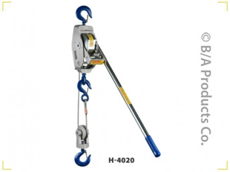 Lug-All Cable Ratchet Winch Hoists,  3/4 Ton WLL