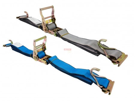 Etrack Straps with E Fitting and J Hook