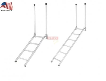 Folding Step Ladder - Aluminum