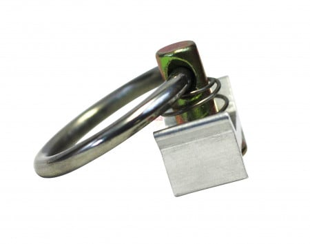 L-Track Stud with Stainless Steel Ring