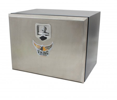 "Trailer Tool Box 18"" (H) x 18"" (D) x 24"" (W) Single Door"