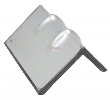 """Steel Edge Protector w/ Rubber on Back - 6"""""""