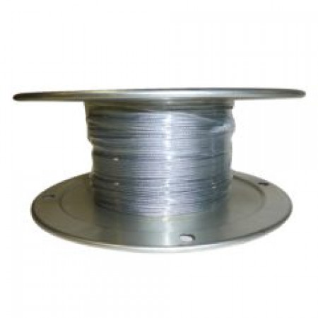 """Galvanized Aircraft Cable Wire Rope 1/8"""" x 1000' 7x7"""