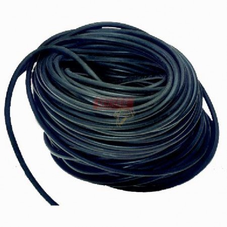 """Rubber Bungee Rope Solid Core 3/8"""" x 200', EPDM"""