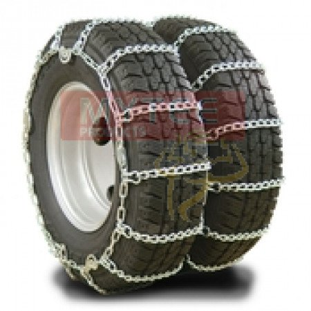 """Twist Link Tire Chain - Double For 24.5"""" tires (Set of 2)"""
