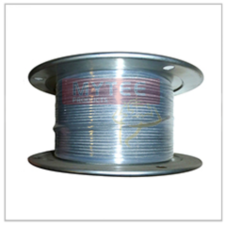 """Vinyl Coated Wire Rope Cable 1/8"""" - 3/16"""" x 250' 7x7"""