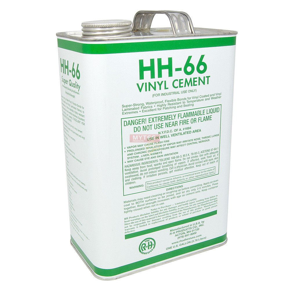 Hh66 Vinyl Cement 1 Gallon Truck Tarp Pool Cover Awning