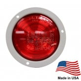 "4"" Round LED Stop, Tail and Turn Light For Trailer Chassis"