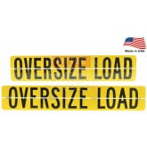 Hinged Aluminum Oversize Load Sign Made in USA