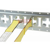 Horizontal and Vertical Cross Style E Track 5 ft. Galvanized
