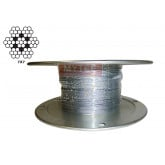 Galvanized Aircraft Steel Wire Rope Cable 7x7
