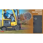 4' Wide Ground Protection Mat Kit (12 pcs)