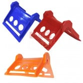 "Corner Protectors ( 4"" Red, Blue & Orange )"