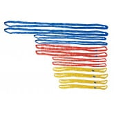 12PC Endless Round Lifting Sling Kit Crane Rigging Hoist Wrecker Recovery Strap