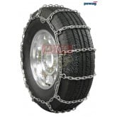 "pewag Square Link Tire Chain - Single For 24.5"" tires (Set of 2)"
